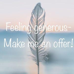 Make me an offer 🤗